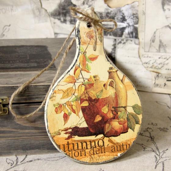 Holzbrettchen Rund handmade4u vintage holzbrettchen rund brett brettchen küche