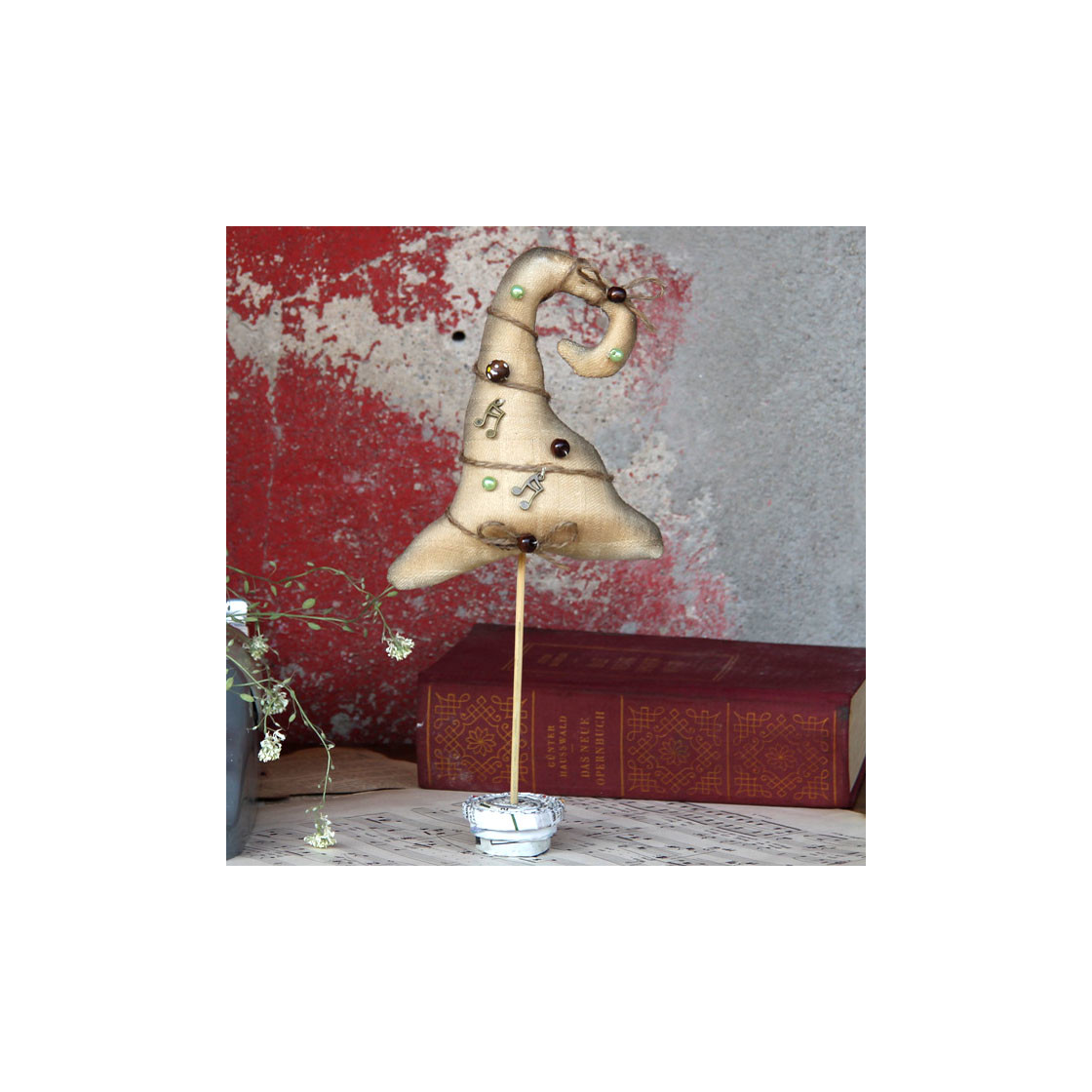 Vintage design tischdeko weihnachtsbaum 25 5 cm 16 99 for Design tischdeko