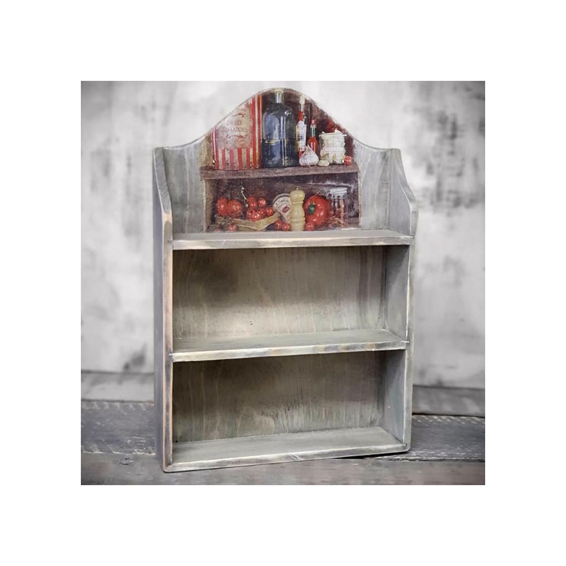 handmade4u vintage wandregal miniregal holz gew rzregal. Black Bedroom Furniture Sets. Home Design Ideas