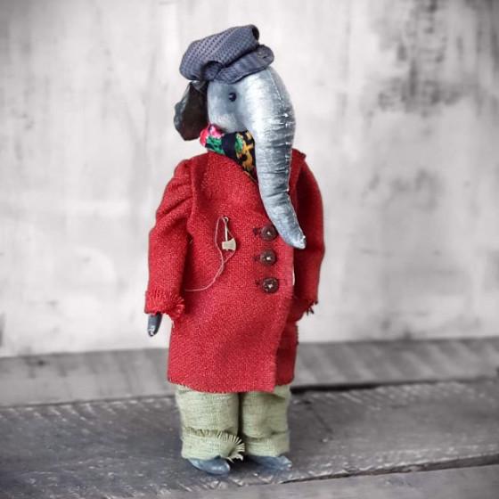 Künstler Elefant Vintage Stil online kaufen | handmade4u, 89,99 €
