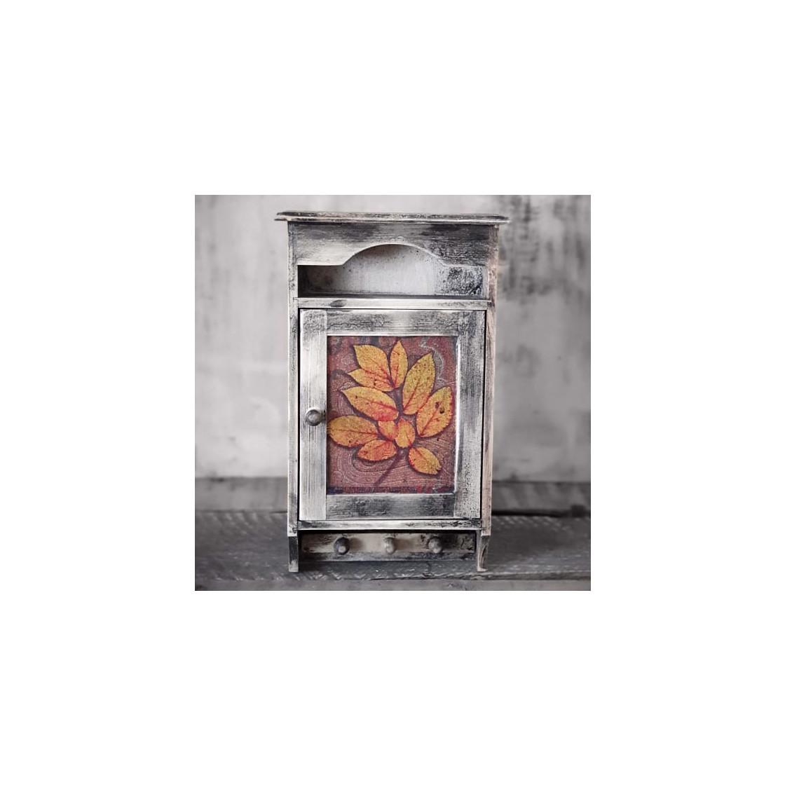 handmade4u | Vintage Schlüsselkasten Landhaus Shabby Retro Holz ...