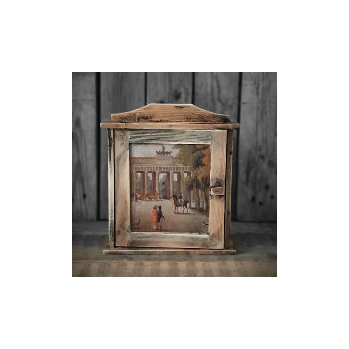 handmade4u vintage schl sselkasten landhaus holz schl sselschrank 17 99. Black Bedroom Furniture Sets. Home Design Ideas